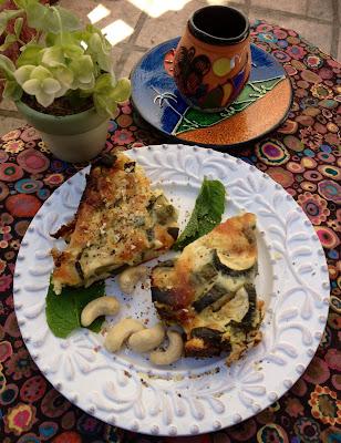 gluten free zucchini quiche