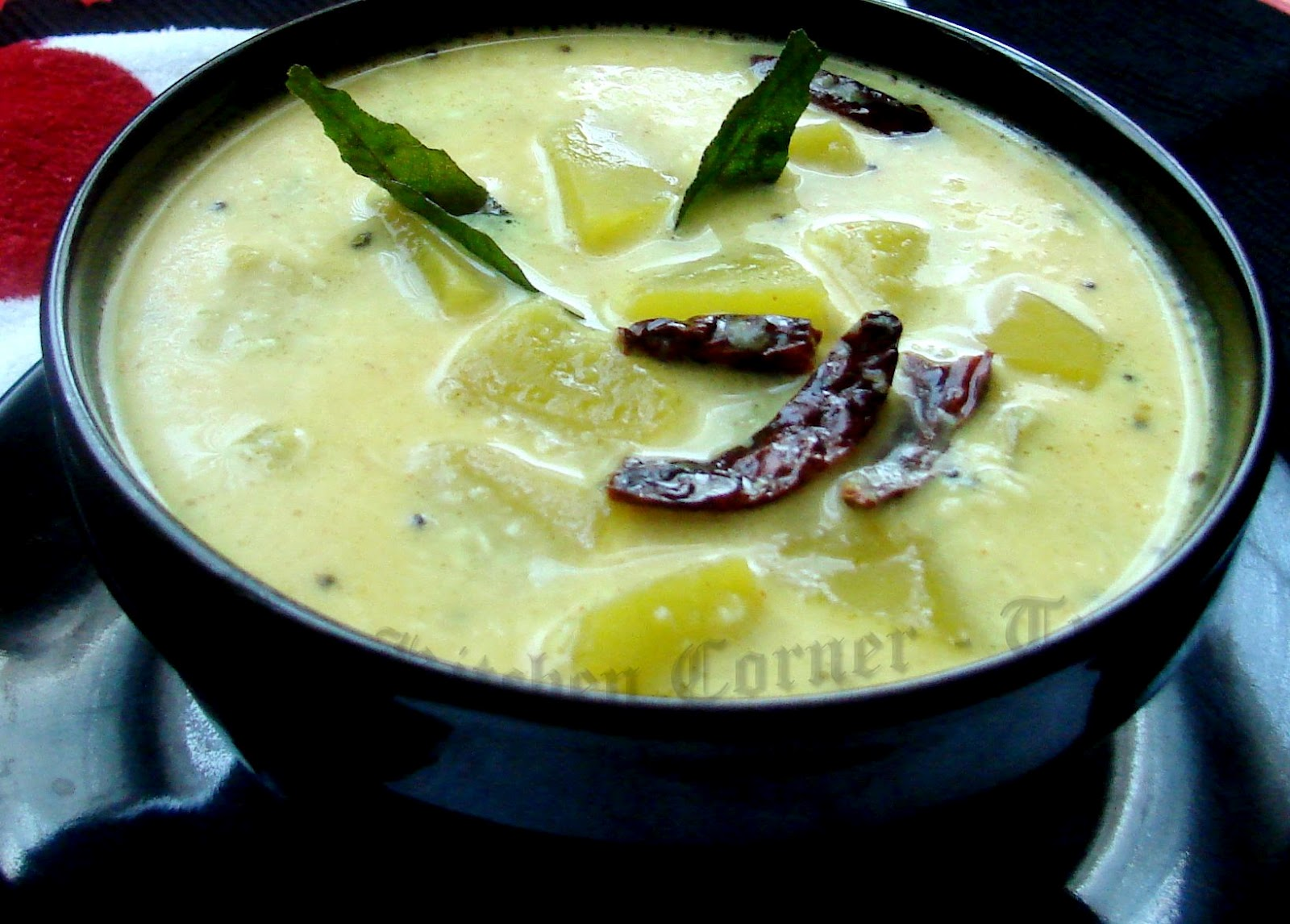 ... Corner-Try It: Kapplanga Thenga Aracha Curry/Green Papaya Curry