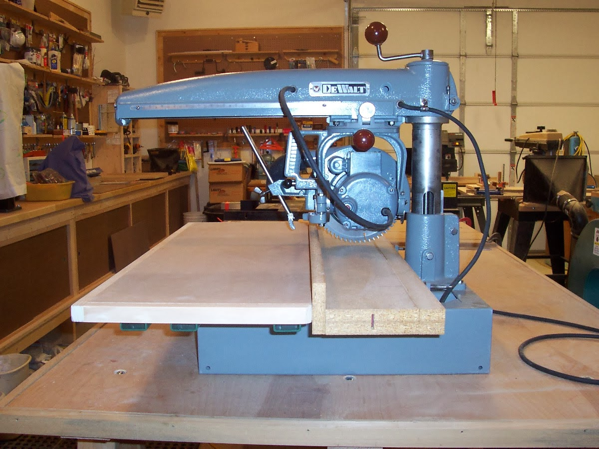 Dewalt Mbf Radial Arm Saw Restoration