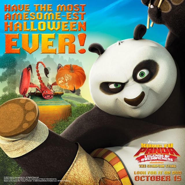 Kung Fu Panda: Legends of Awesomeness: The Scorpion Sting  Halloween