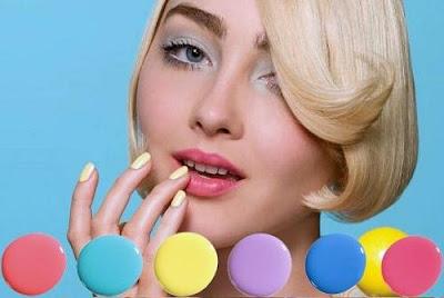 maquiagem coloridas moda candy color