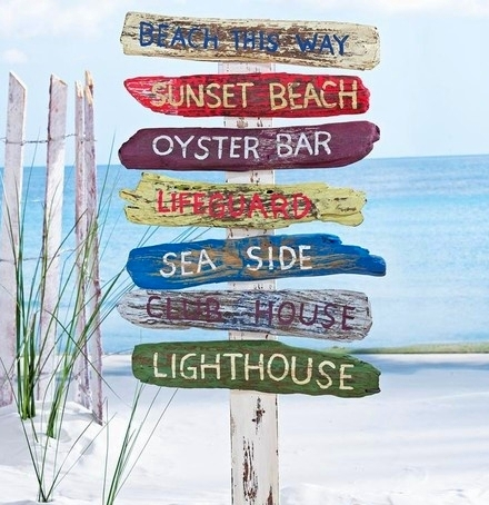This Beach Yard Stake Is Sold By RSH Catalog Isn 39 T It Cool Ready To