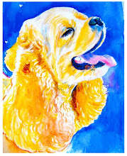 Cocker Spaniel Print from Original Watercolor Painting