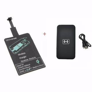 Mirco USB Qi Wireless Charging Receiver Module + Q1 Charger Pad Mat For Android