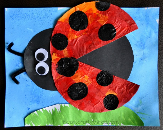 how to make a ladybug for school project
