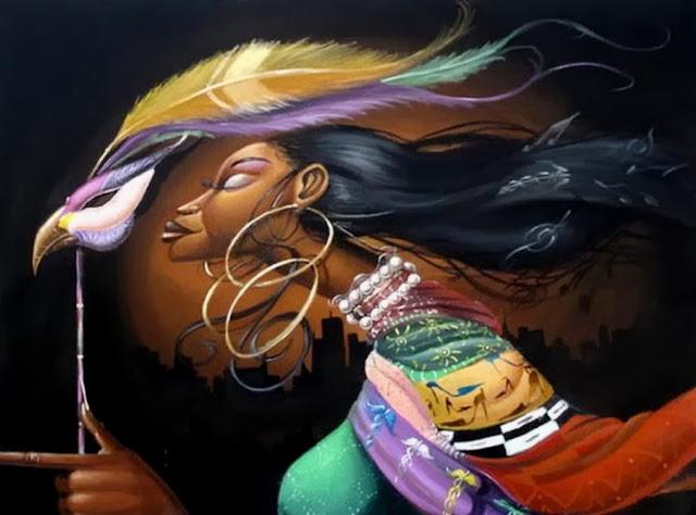 oleos-de-mujeres-africanas