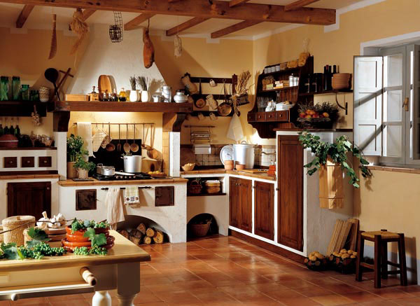 Muebles y decoraci n de interiores cocina r stica italiana - Decoracion de interiores rustica ...