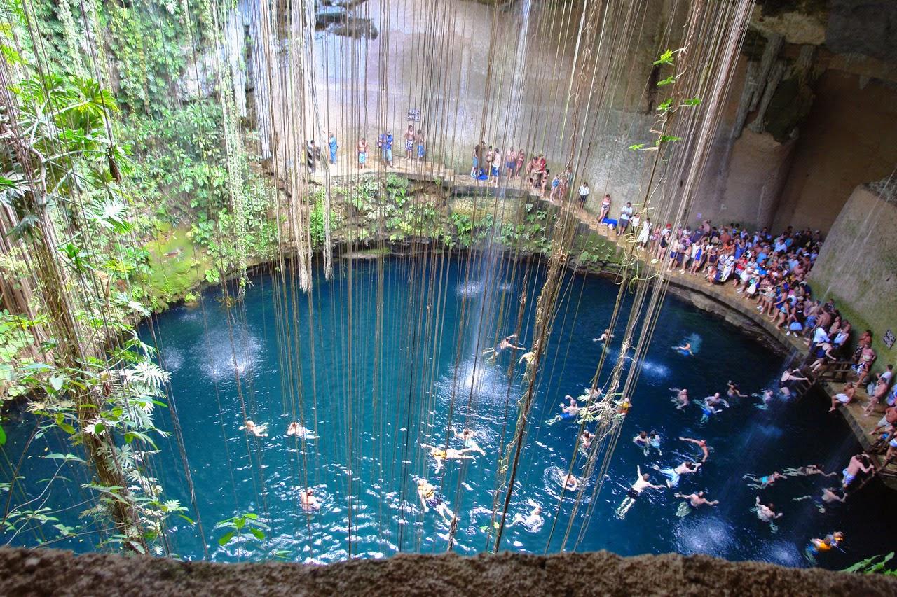 Las piscinas naturales mas paradis acas del mundo taringa for Piscinas naturales en mexico