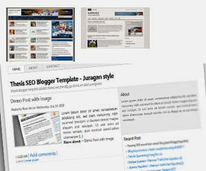 Template blog seo friendly versi ini wiwid