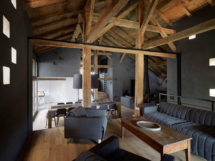Decorar tu casa estilo rustico moderno