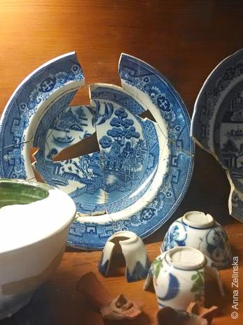 Найденный фрагменты посуды в Старом Баре, Черногория