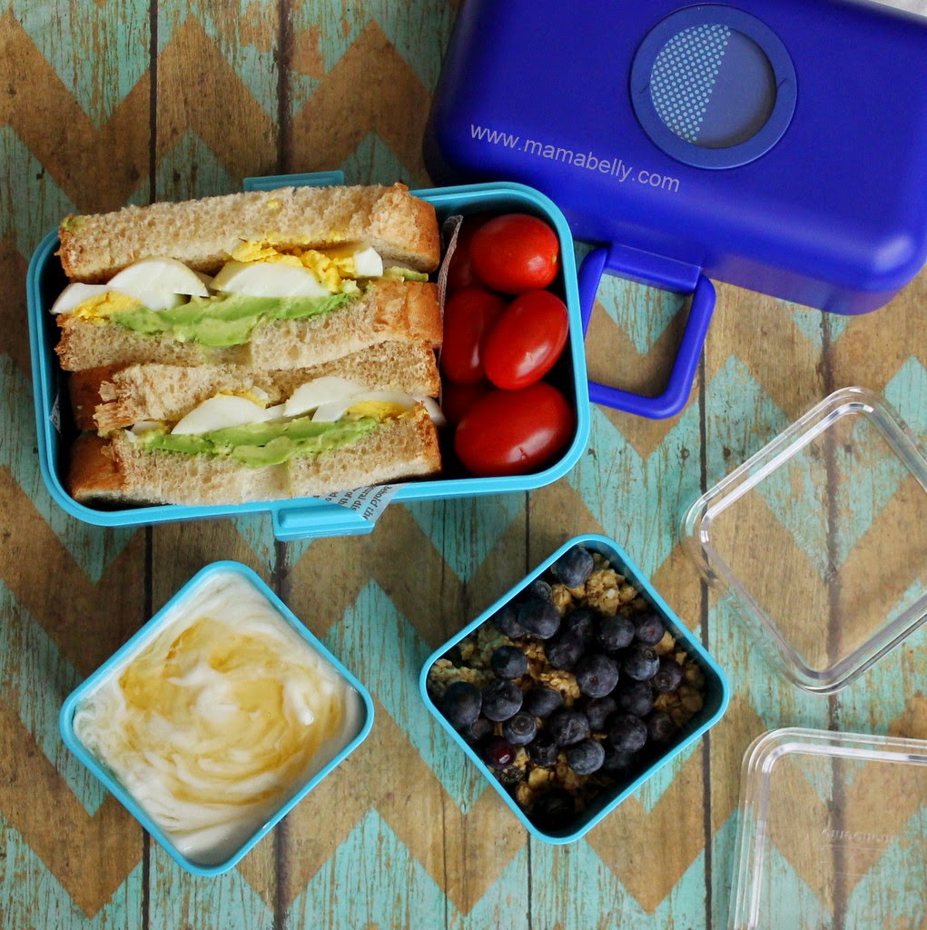 Monbento for Mama: Egg Avocado Sandwich in the Monbento Tresor - mamabelly.com