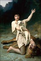 Daud gembala domba yang baik