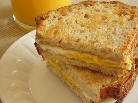 COOL STUFF: Fried Egg Sandwich