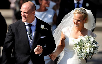 zara-phillips-mike-tindall-marriage-wedding-pictures