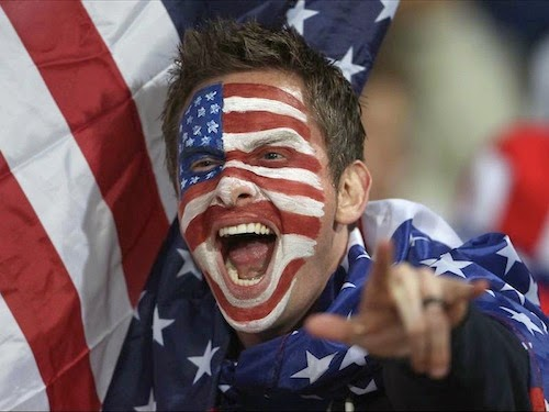 Team USA fan