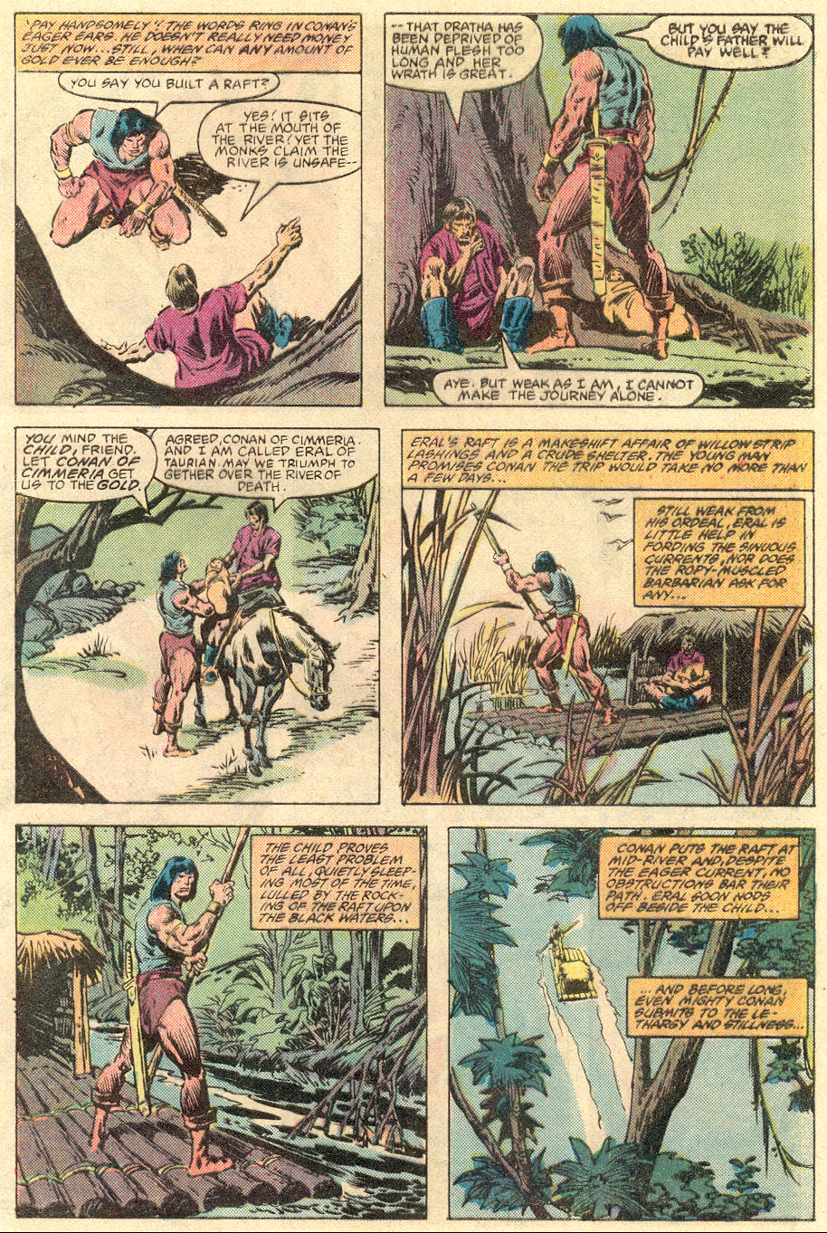 Conan the Barbarian (1970) Issue #136 #148 - English 6