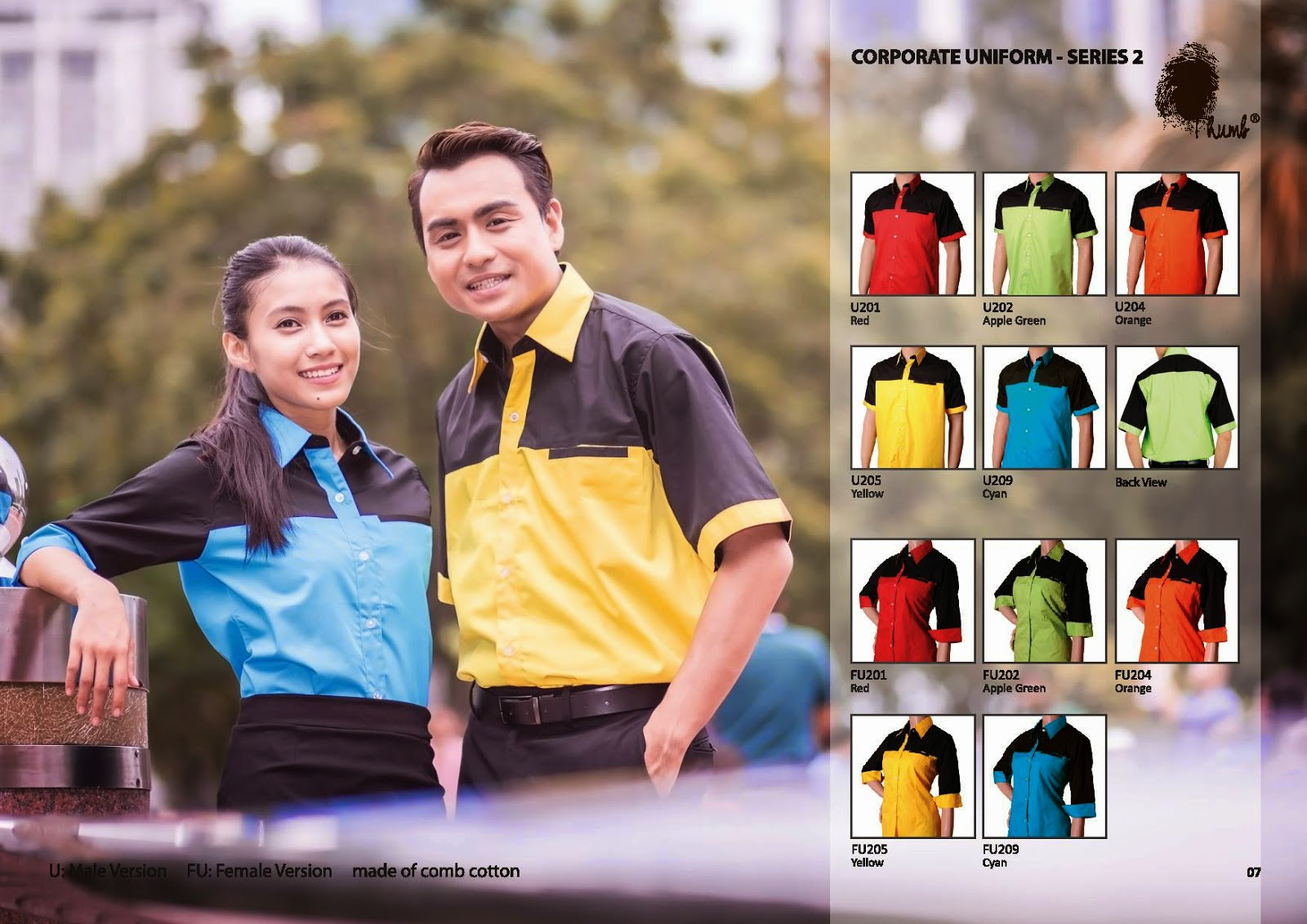 THUMB CORPORATE UNIFORM - SERIES 02
