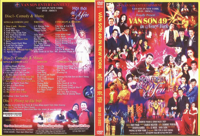 Vân Sơn 49 In New York - Một Thời Để Yêu 3 DVD 5