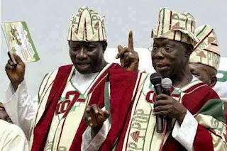 Obasanjo and Jonathan