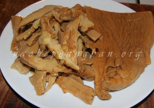 Vịt hầm Măng khô, Nấm hương Mộc nhĩ ngon mềm 2
