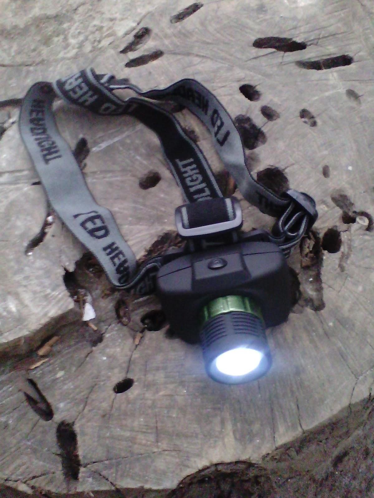 headlamp ( lampu kepala )