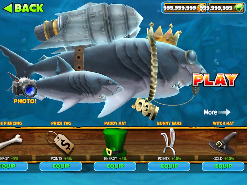 Hungry Shark Evolution (MOD ... - android-1.com