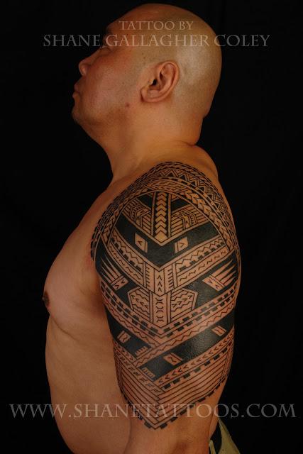 SamoanPolynesian Sleeve To