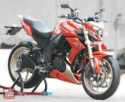 yamaha byson street fighter modifikasi
