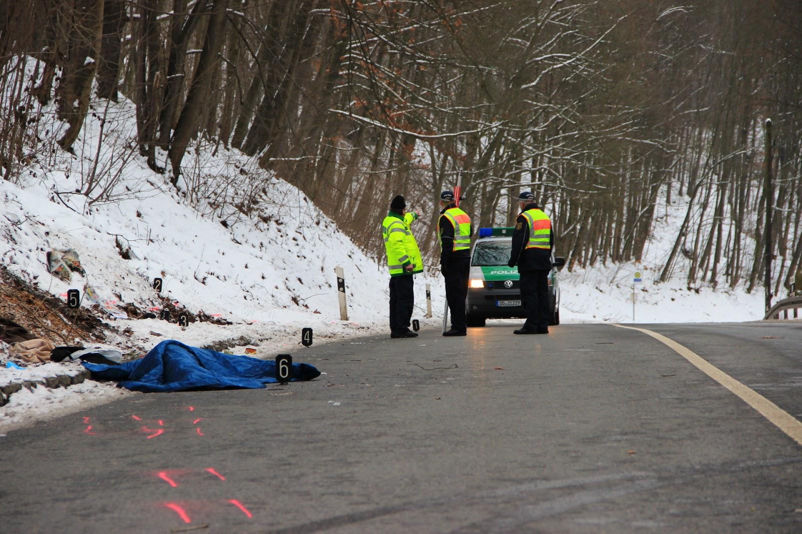 Hit-TV.eu aktuell: Aue - Tödlicher Verkehrsunfall auf der