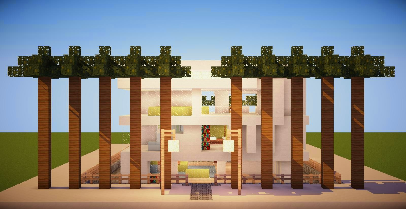Casas modernas no minecraft for Casas modernas minecraft keralis