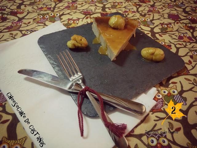 Cheesecake De Castañas