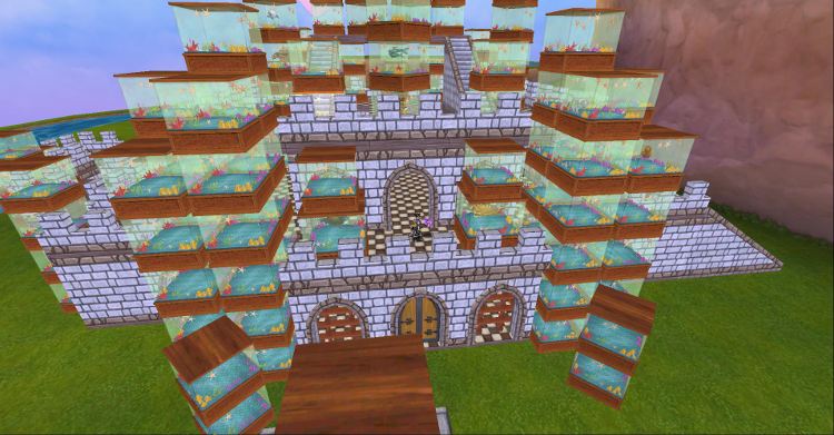 Wizard101 Fish Tanks Castle