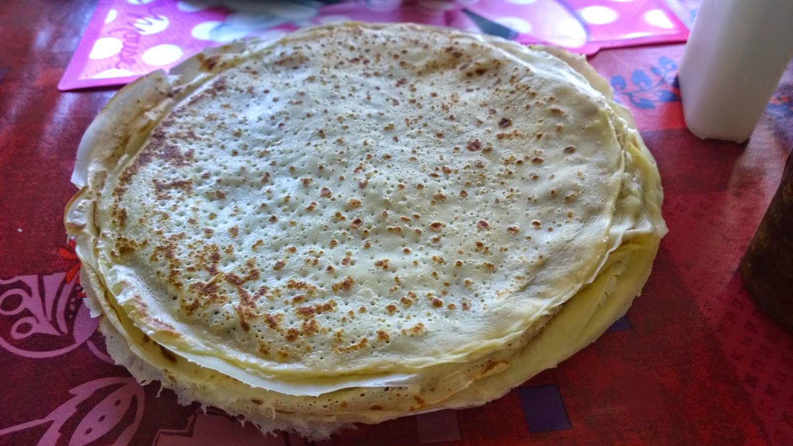 Mon thermomix mes tupp et moi by lallie p te a cr pes 4 3 2 1 - Pate a crepes tupperware ...