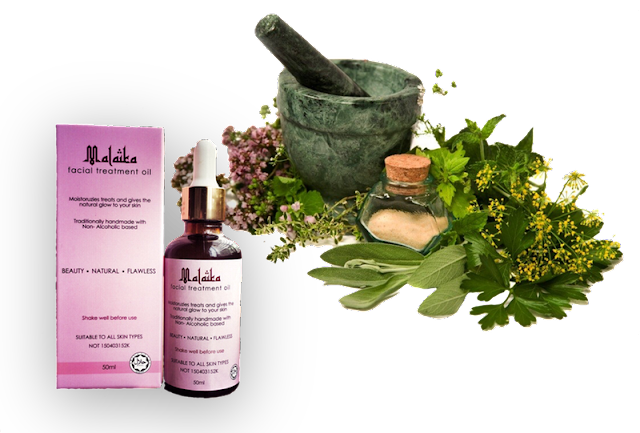 Malaika Oil, khasiat herba semulajadi,