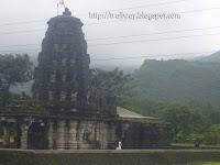 Amruteshwar Temple of Bhandardara dam near Pune in India