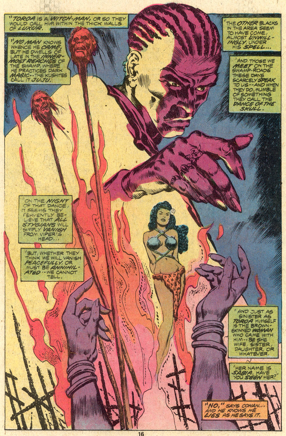 Conan the Barbarian (1970) Issue #82 #94 - English 11