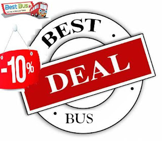 Flat 10% discount on bus tickets, bus ticket discount coupons, coupon codes, online bus ticket coupon codes