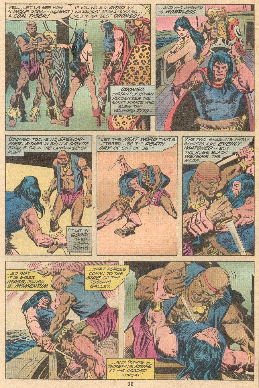 Conan the Barbarian (1970) Issue #58 #70 - English 17