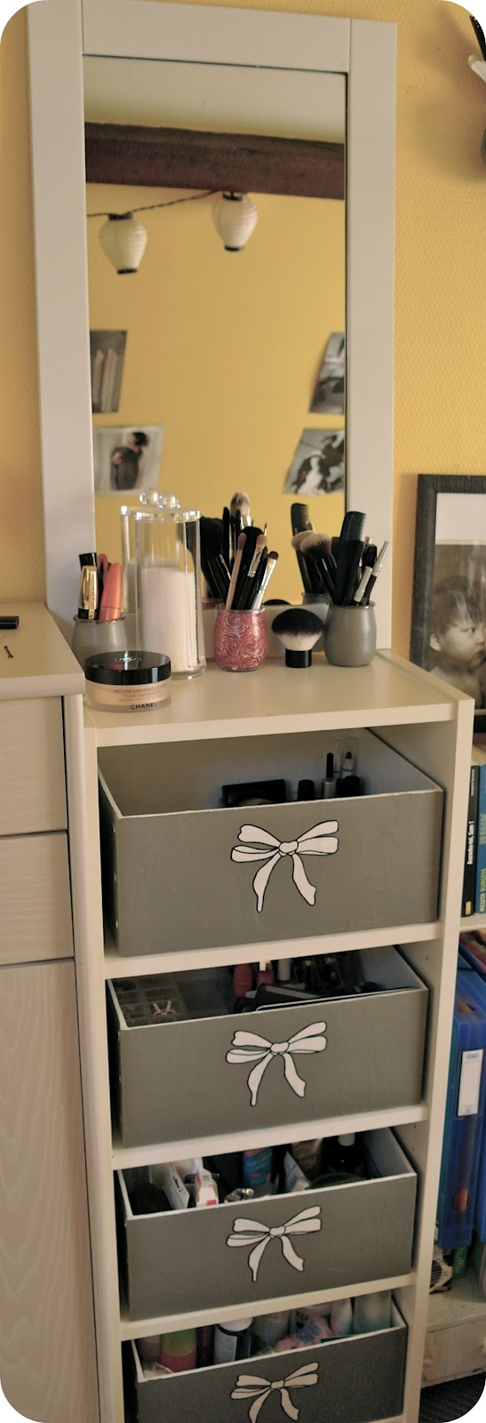 br ves de maquillage mes astuces de rangements make up. Black Bedroom Furniture Sets. Home Design Ideas