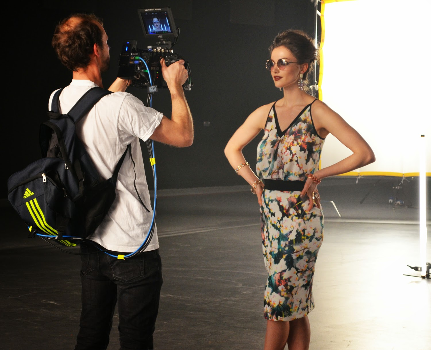 Manchester Arndale Video Shoot - Rock On Holly