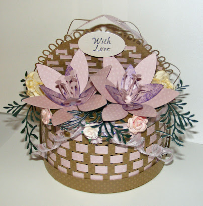 Mother&#39;s Day 3d Basket