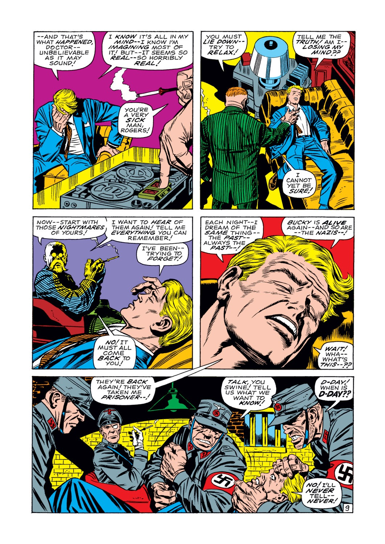 Captain America (1968) Issue #107 #21 - English 10