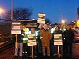 50,000 on strike in Edinburgh and Lothians