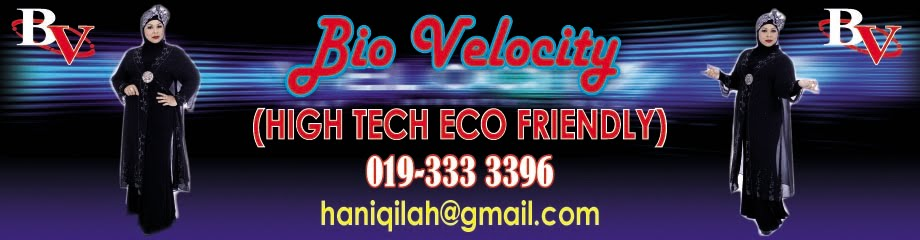 High Tech Eco Friendly Bio Velocity