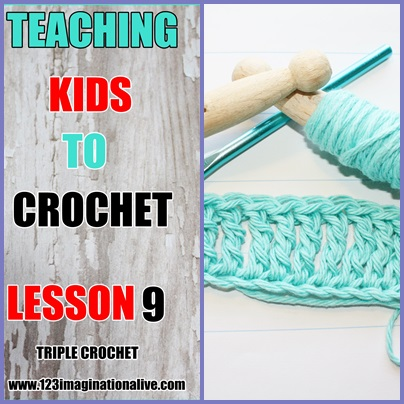 How To Crochet A TRIPLE CROCHET