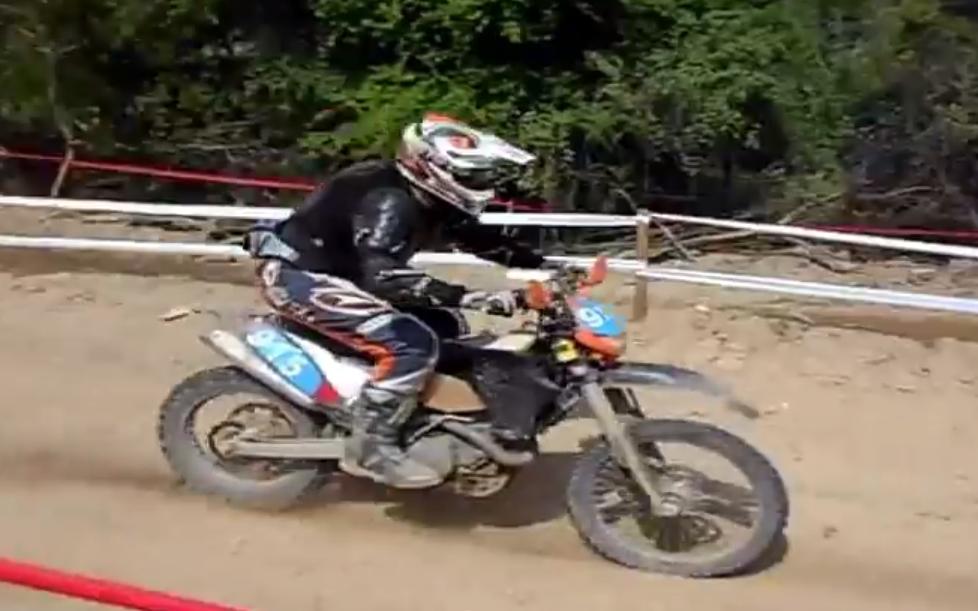 Η δεύτερη ημέρα των αγώνων Enduro στην Καστοριά (βίντεο)