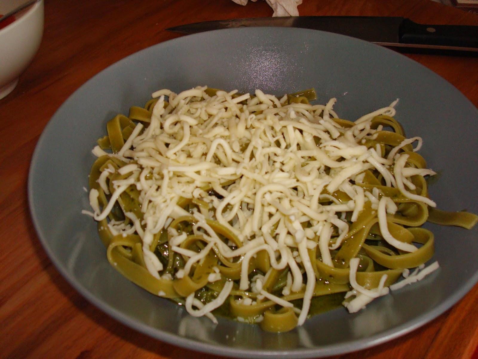 Erase una vez una cocinillas pasta con salsa pesto suave - Como se hace la salsa pesto para pasta ...
