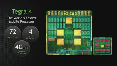 kelebihan tegra 4, prosesor quad core tercepat, test performa nvidia tegra 4
