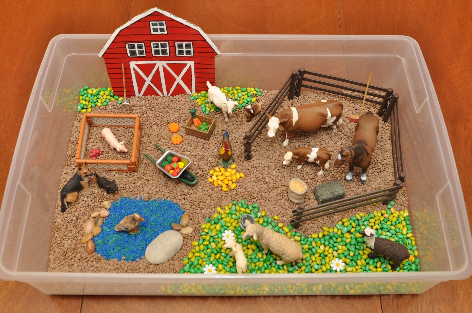Сделать ферма животных